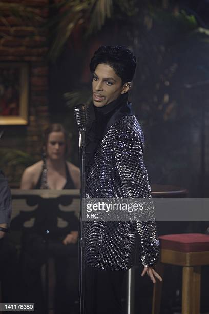 LENO Episode 3774 Air Date Pictured Musical guest Prince performs on May 28 2009 Photo by Paul Drinkwater/NBCU Photo Bank