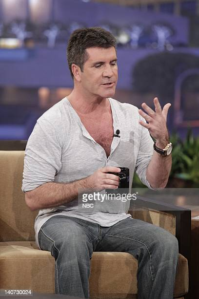 Episode 3781 -- Pictured: American Idol judge Simon Cowell during an interview on March 8, 2010 -- Photo by: Paul Drinkwater/NBCU Photo Bank