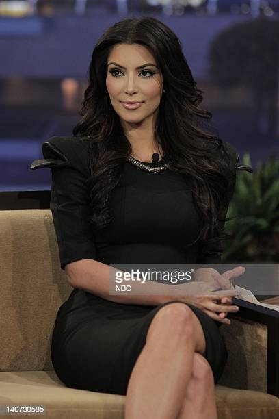 Reality star Kim Kardashian during an interview on March 11 2010 Photo by Paul Drinkwater/NBCU Photo Bank