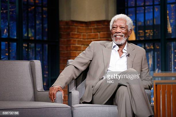 Actor Morgan Freeman during an interview on June 7 2016