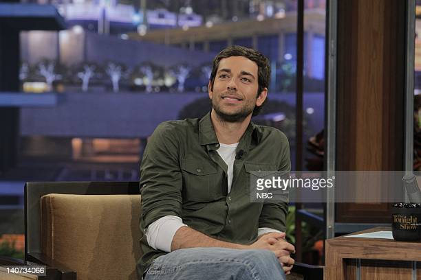 Actor Zachary Levi during an interview on April 1 2010 Photo by Stacie McChesney/NBCU Photo Bank