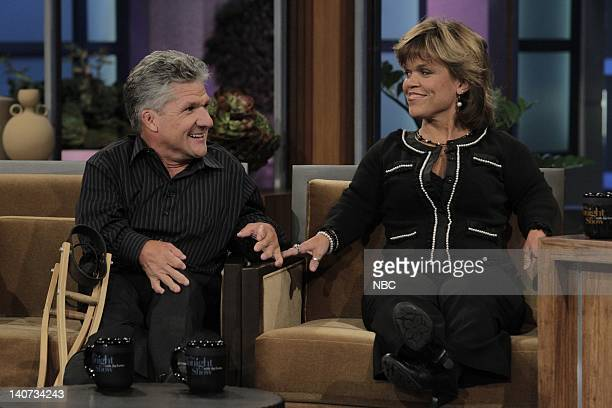 'The Roloffs' Matt and Amy Roloff during an interview on April 5 2010 Photo by Stacie McChesney/NBCU Photo Bank