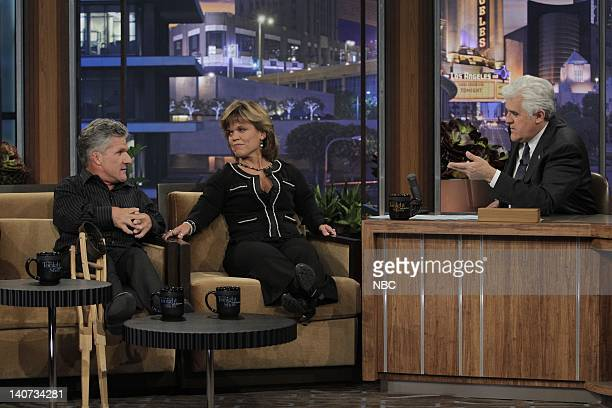'The Roloffs' Matt and Amy Roloff during an interview with host Jay Leno on April 5 2010 Photo by Stacie McChesney/NBCU Photo Bank