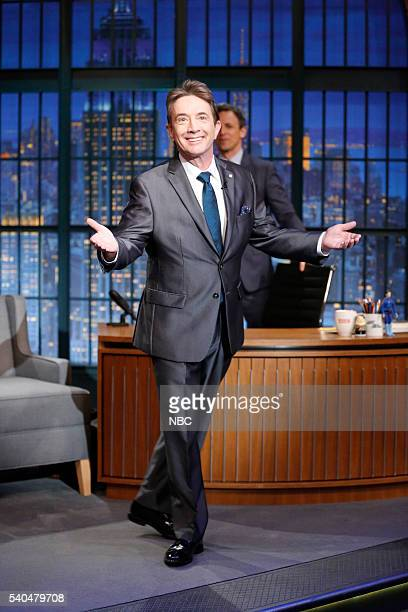 Comedian Martin Short arrives on June 15 2016