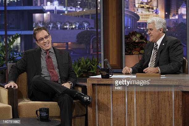 Actor Tim Allen during an interview with host Jay Leno on June 11 2010 Photo by Paul Drinkwater/NBCU Photo Bank
