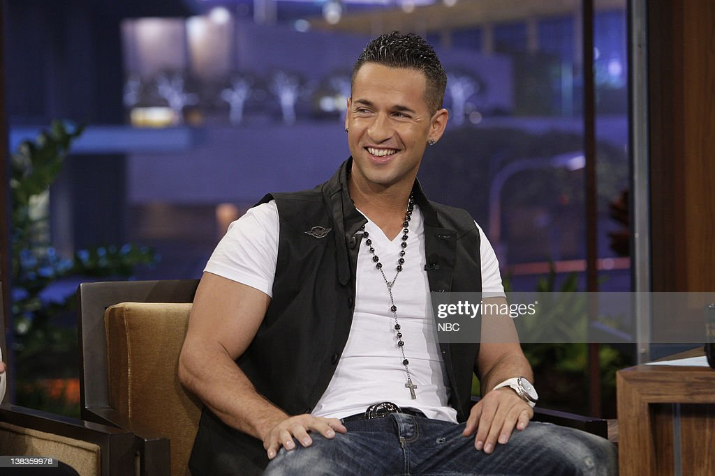 Mike 'The Situation' Sorrentino during an interview on June 22, 2010