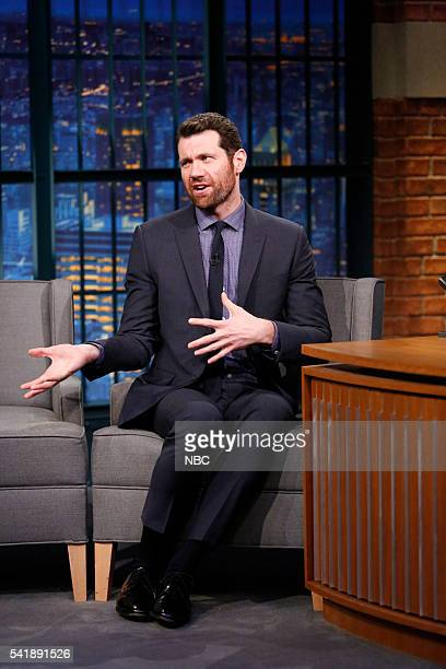 Comedian Billy Eichner during an interview on June 20 2016