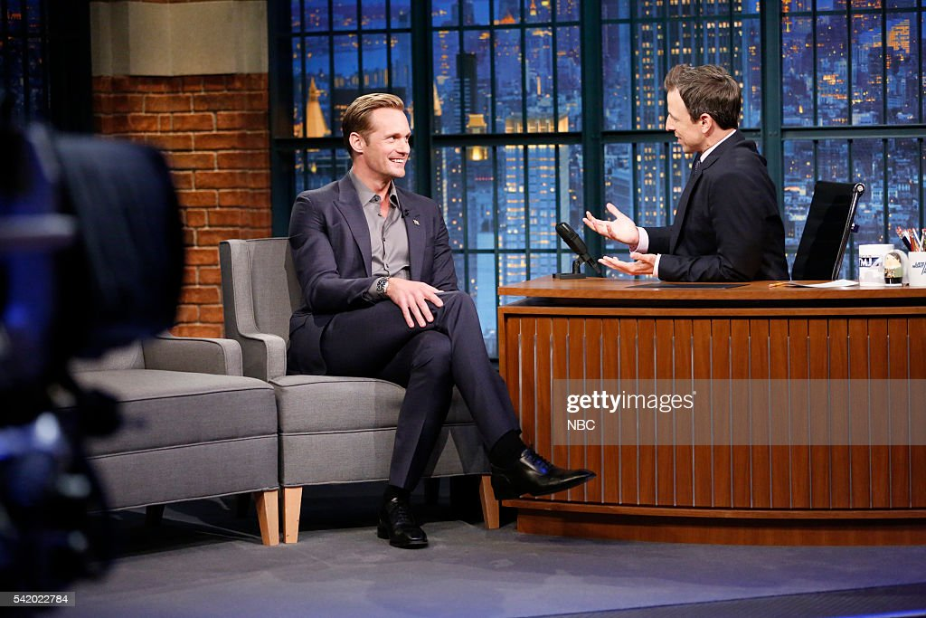Late Night with Seth Meyers - Season 3 : News Photo