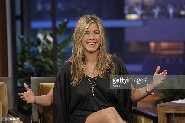 Actress Jennifer Aniston during an interview on July 29 2010 Photo by Paul Drinkwater/NBCU Photo Bank