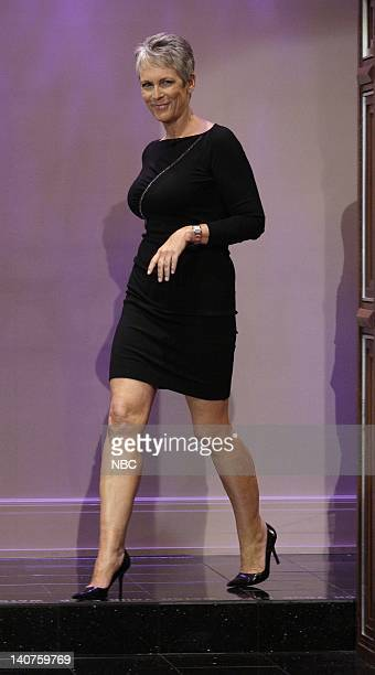 Actress Jamie Lee Curtis arrives on September 14 2010 Photo by Paul Drinkwater/NBC/NBCU Photo Bank
