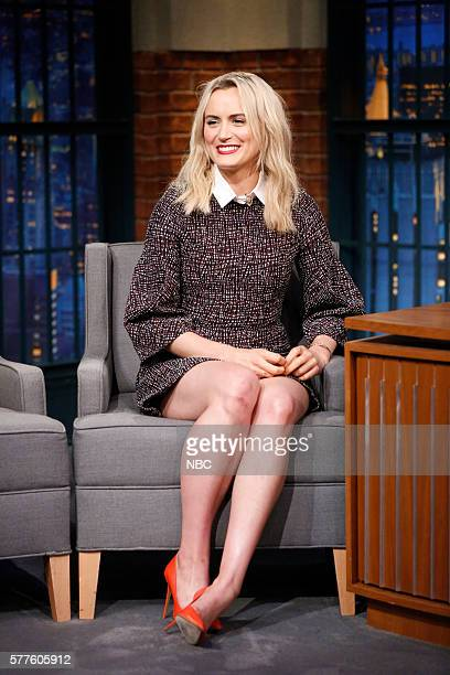 Actress Taylor Schilling during an interview on July 18 2016