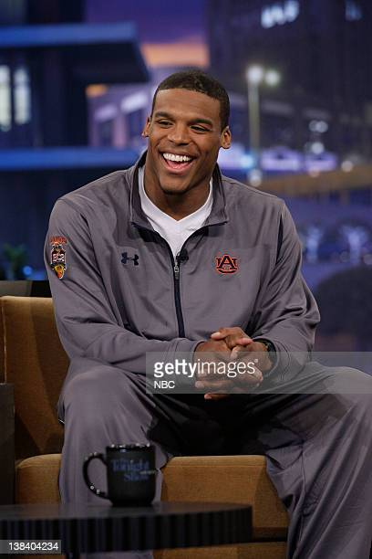 Auburn University quarterback Cam Newton during an interview on January 11 2011