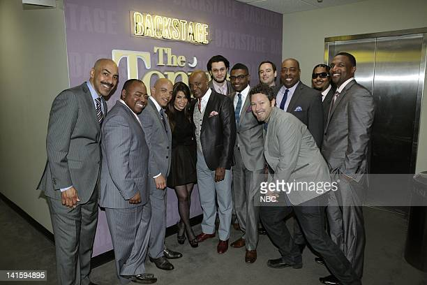 LENO Episode 3985 Pictured Kevin Richar Paul Jackson Jr Rickey Minor singer Paula Abdul Dorian Holley Miguel Gandelman Randolph Ellis David Delhomme...