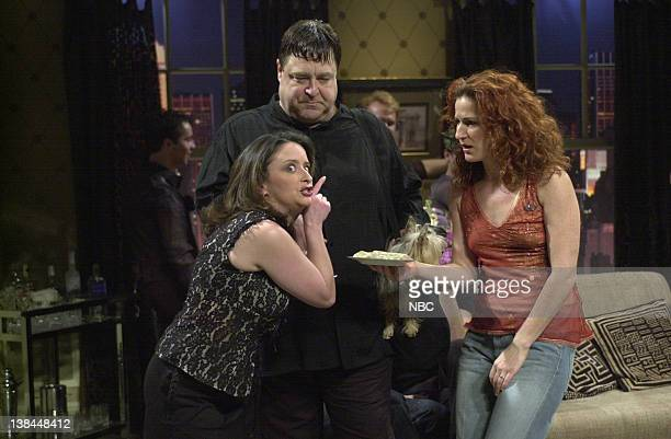 LIVE Episode 4 Air Date Pictured Rachel Dratch as Nicole John Goodman as Julius Ana Gasteyer as Elisa during the She's The Girl With No Gaydar skit...