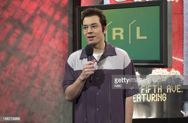 LIVE Episode 4 Aired Pictured Jimmy Fallon as Carson Daly during TRL skit
