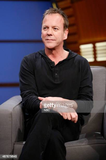 Episode 40 -- Pictured: Actor Kiefer Sutherland during an interview on May 1, 2014 --