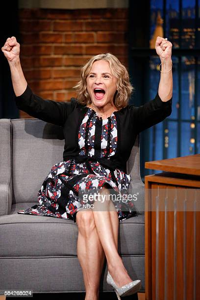 Actress Amy Sedaris during an interview on July 27 2016