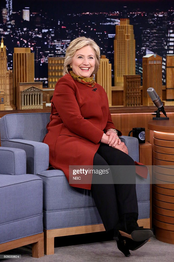 Presidential Candidate Hillary Clinton during an interview on January 14, 2016 --