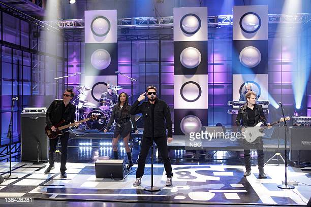 Musical guests duran Duran perform on March 22 2011