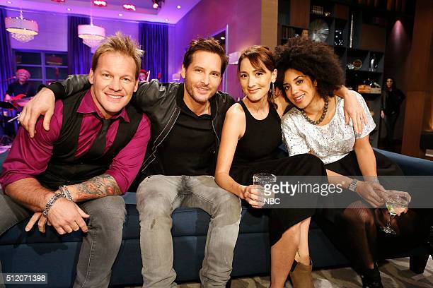 Chris Jericho Peter Facinelli Bree Turner Contestant