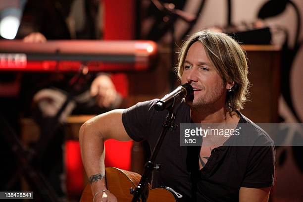 Musical guest Keith Urban performs on March 23 2011