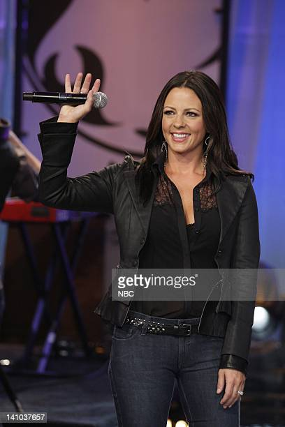 Musical guest Sara Evans on April 12 2011 Photo by Paul Drinkwater/NBC/NBCU Photo Bank