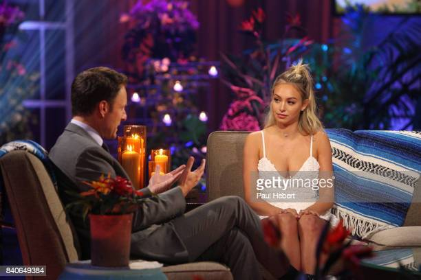 PARADISE Episode 403B Corinne Olympios tells her side of the story in an instudio interview with host Chris Harrison TUESDAY AUGUST 29 on The Walt...