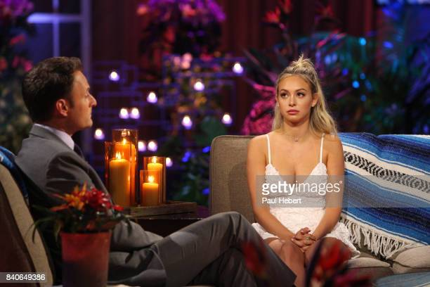 PARADISE 'Episode 403B' Corinne Olympios tells her side of the story in an instudio interview with host Chris Harrison TUESDAY AUGUST 29 on The ABC...