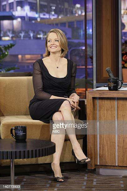 Actress/director Jodie Foster during an interview on May 13 2011 Photo by Stacie McChesney/NBC/NBCU Photo Bank
