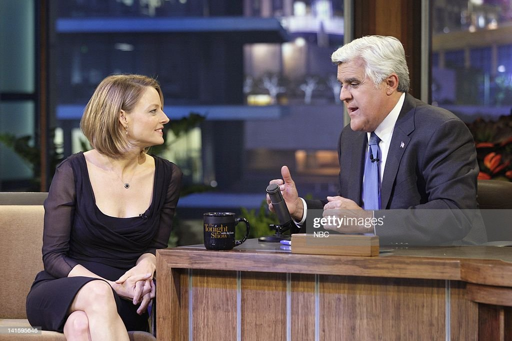 The Tonight Show with Jay Leno - Backstage : News Photo