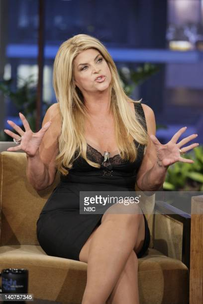 Actress Kirstie Alley during an interview on May 20 2011 Photo by Paul Drinkwater/NBC/NBCU Photo Bank