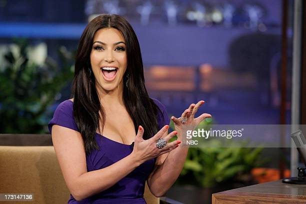 TV Personality Kim Kardashian during an interview on June 14 2011 Photo by Paul Drinkwater/NBC/NBCU Photo Bank via Getty Images
