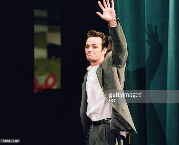 Actor Luke Perry leaves on February 24 1994