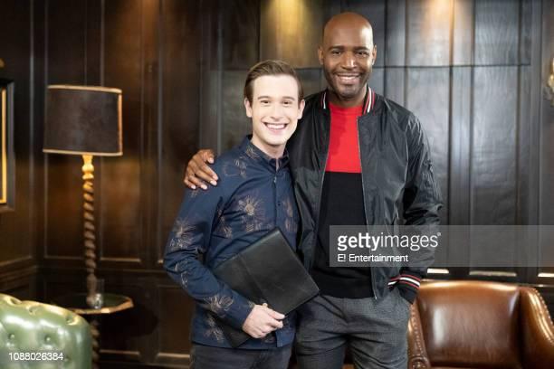Tyler Henry and Karamo Brown