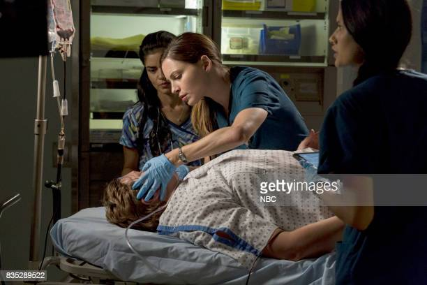 SHIFT 'R3BOOT' Episode 408 Pictured Alma Sisneros as Nurse Jocelyn Jill Flint s Jordan Alexander Tanaya Beatty as Shannon Rivera