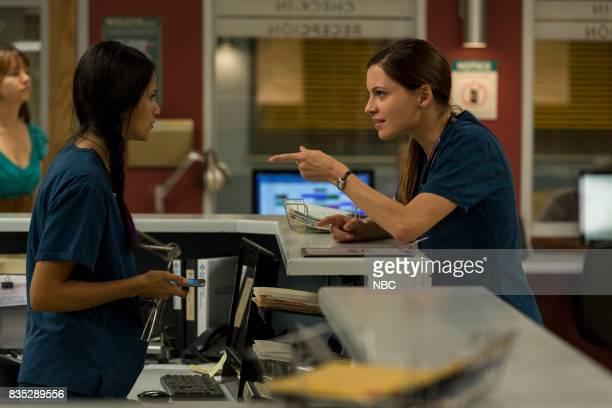 SHIFT 'R3BOOT' Episode 408 Pictured Tanaya Beatty as Shannon Rivera Jill Flint as Jordan Alexander