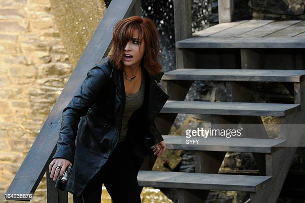 WAREHOUSE 13 Episode 410 'We All Fall Down' Pictured Allison Scagliotti as Claudia Donovan