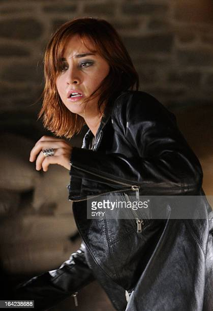 WAREHOUSE 13 Episode 410 We All Fall Down Pictured Allison Scagliotti as Claudia Donovan