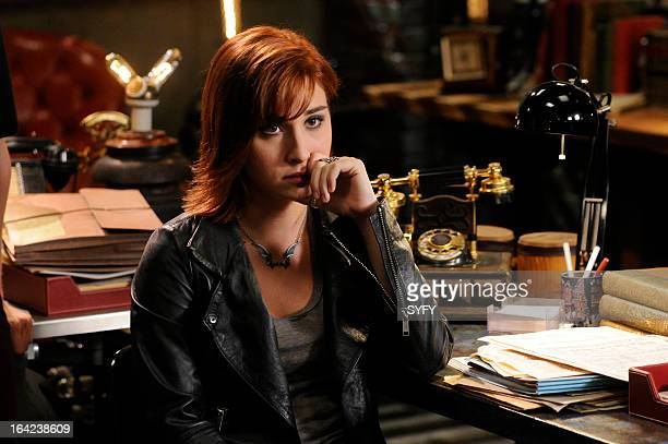 WAREHOUSE 13 Episode 411 The Living and the Dead Pictured Allison Scagliotti as Claudia Donovan