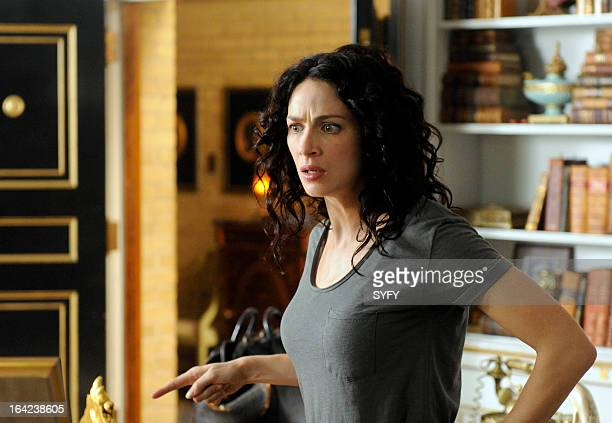 """Episode 411 """"The Living and the Dead"""" -- Pictured: Joanne Kelly as Myka Bering --"""