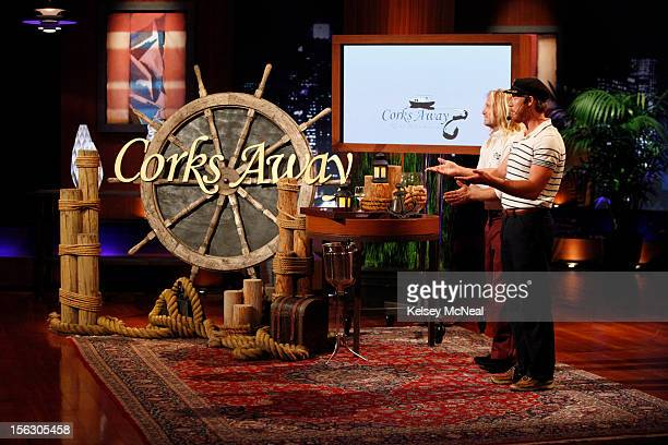 TANK 'Episode 411' The Sharks salute a Marine Corps officer from Annapolis MD who is asking them to invest in an energy and nutritional supplement...