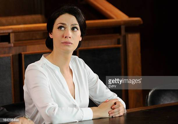 """Episode 412 """"Parks and Rehabilitation"""" -- Pictured: Joanne Kelly as Myka Bering --"""