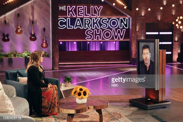 Episode 4141 -- Pictured: Kelly Clarkson, Harry Connick Jr. --