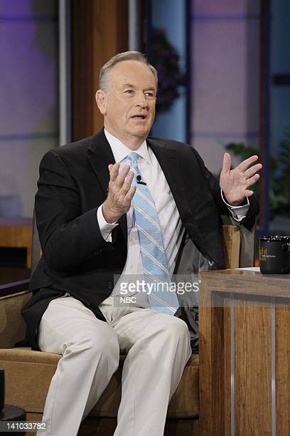 Episode 4163 -- Pictured: Political commentator Bill O'Reilly during an interview on December 9, 2011 -- Photo by: Paul Drinkwater/NBC/NBCU Photo Bank