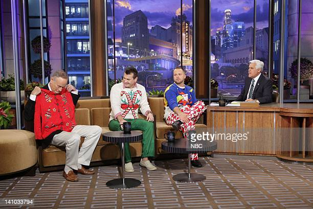 Episode 4163 -- Pictured: Political commentator Bill O'Reilly, Ugly Christmas Sweater Party book authors Ryan Miller and Adam Paulson during an...