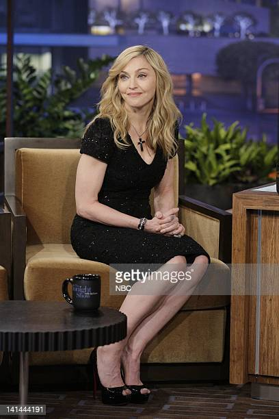 Singer Madonna during an interview on January 30 2012 Photo by Paul Drinkwater/NBC/NBCU Photo Bank