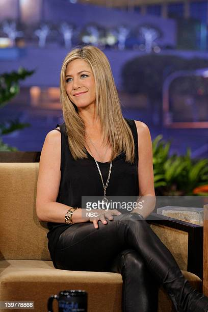 Actress Jennifer Aniston during an interview on February 24 2012