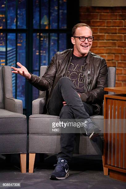 Actor Clark Gregg during an interview on September 19 2016