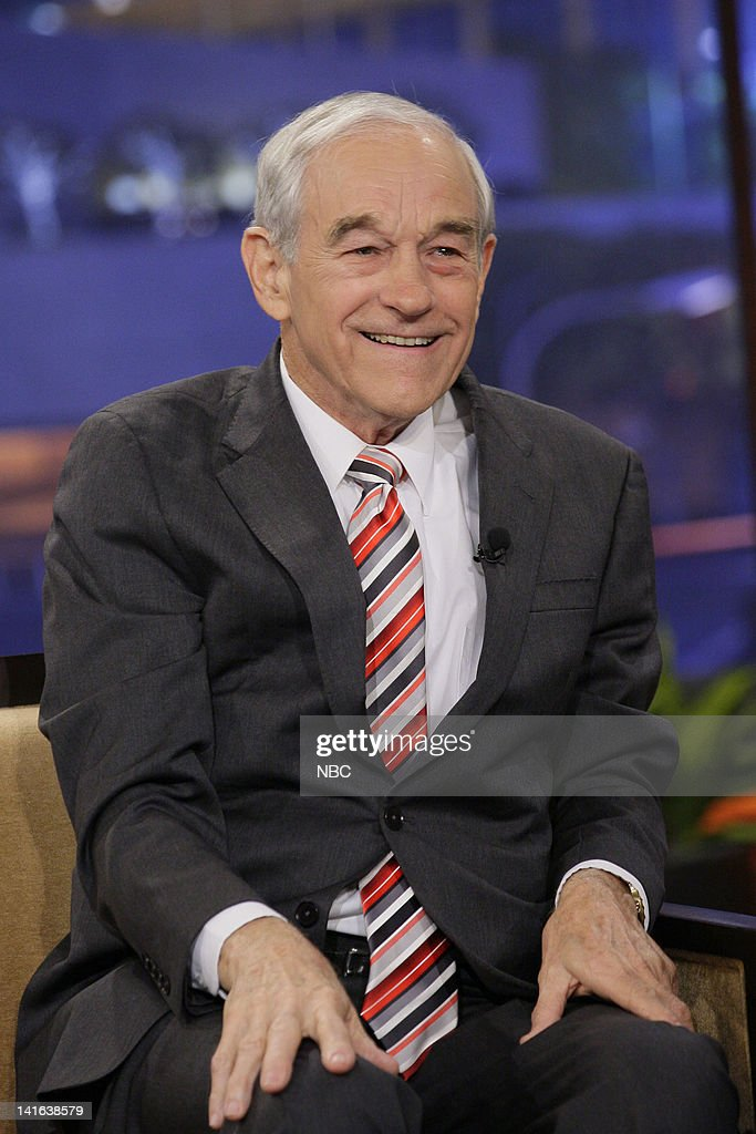 u s representative ron paul during an interview on march 20 2012