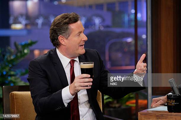 Episode 4225 -- Pictured: Piers Morgan during an interview on March 29, 2012 --